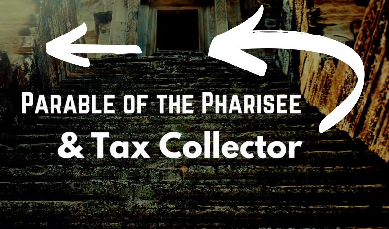 Pharisee and Tax Collector by Jason Royle